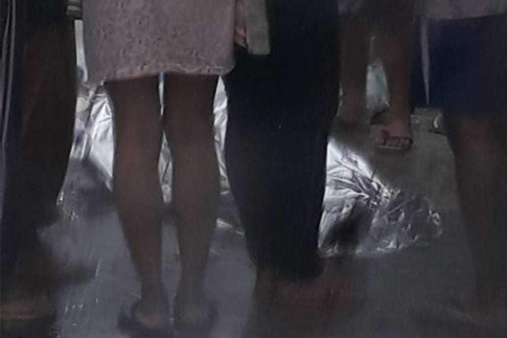 Adolescente morre durante desabamento nesta quinta-feira, em Manaus. / Foto: Divulgação
