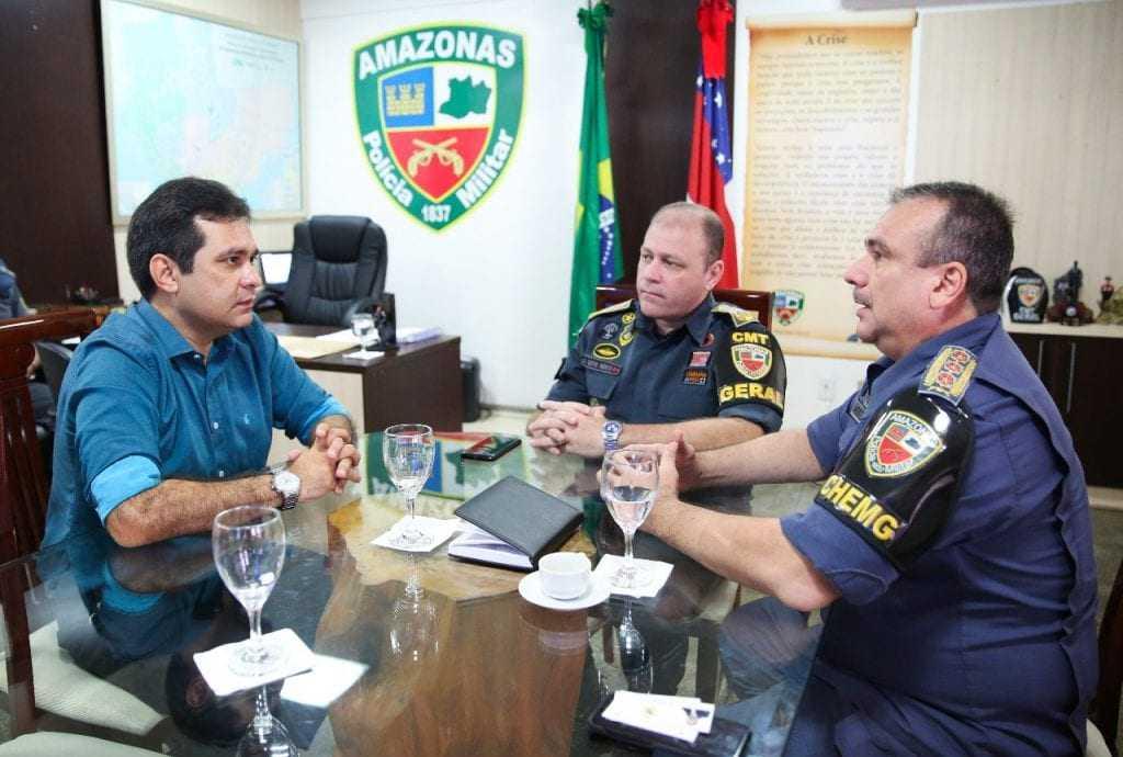 O deputado estadual Álvaro Campelo pediu reforço do policiamento no municípios de Manaus e Itacoatiara. - Imagem: Divulgação