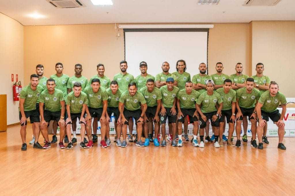 Os jogadores foram apresentados para a imprensa no último dia 03. / Foto: Divulgação