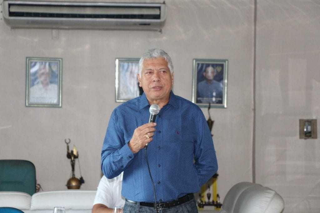 Nazateno Melo, Presidente do clube. / Foto: Divulgação/Nacional FC