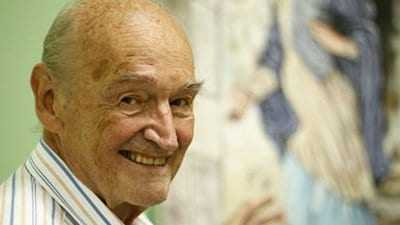 Padre Quevedo morre aos 88 anos em Belo Horizonte-MG. / Foto: Reprodução