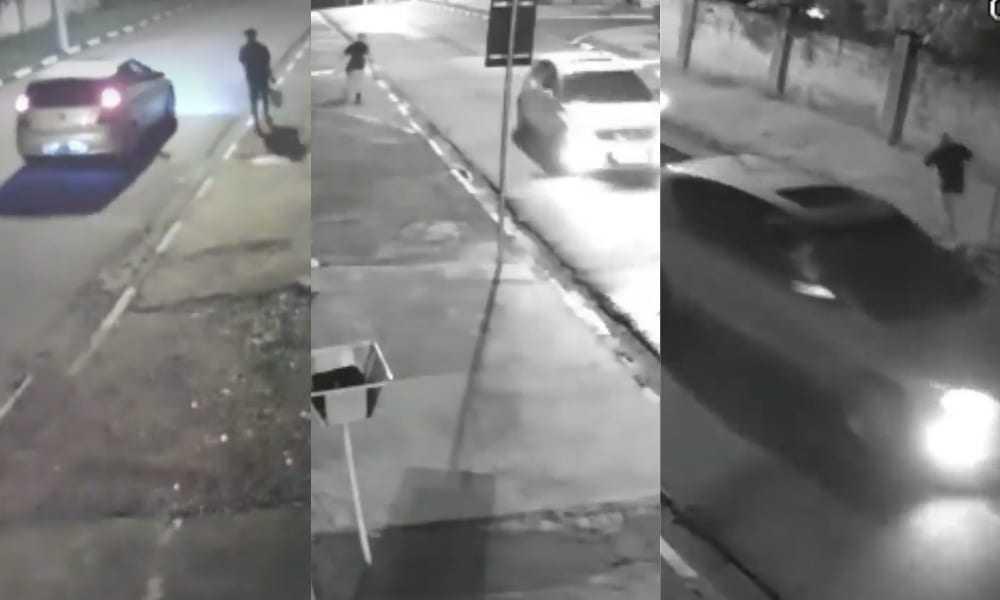 Em uma tentativa de assalto o cara deu um baile nos bandidos