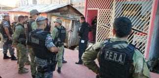 A operação integrada é focada no combate ao tráfico de drogas. / Foto: Divulgação/SSP