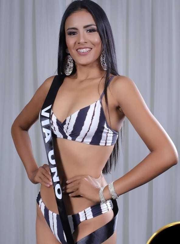 A moça já tinha participado do Miss Iranduba e Miss Amazonas, ambos em 2018. / Foto: Divulgação