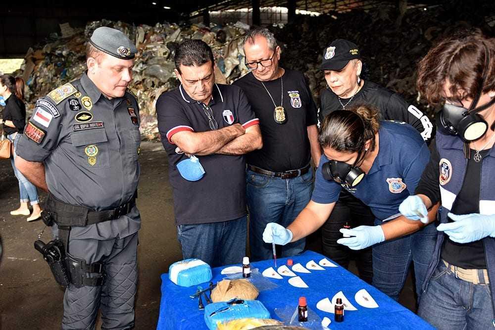9,2 toneladas de drogas foram apreendidas no estado no ano passado. Em 2019, o volume de apreensões já chegou a 1,1 tonelada, em janeiro. / Foto: Divulgação