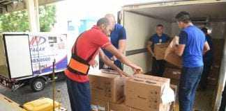 500 mil comprimidos de Risperidona, quantidade suficiente para abastecer as unidades de saúde da rede estadual por até cinco meses. / Foto: Roberto Carlos/Secom