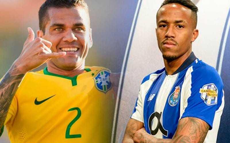 Daniel Alves está de volta à seleção após lesão e Éder Militão foi bastante elogiado pelo treinador. / Foto: Divulgação