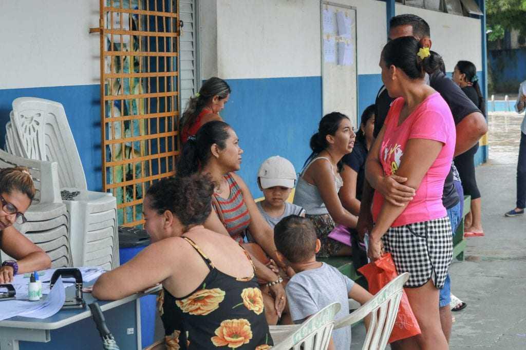 Os atendimentos iniciaram na manhã desta terça-feira (05) e vão até o dia 15, ou até finalizar as 2 mil vagas. / Foto: Hugo Fernando/Semjel