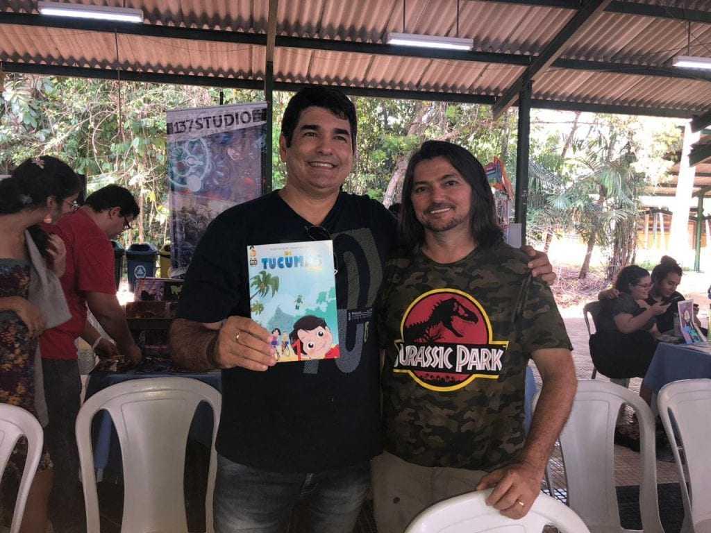 O lançamento aconteceu na Feira Internacional de Quadrinhos, que aconteceu na UFAM. / Foto: Divulgação