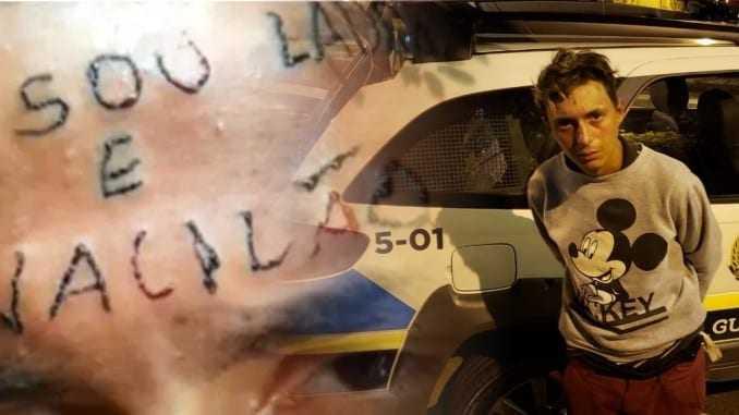 Ruan Rocha da Silva, 19 anos, foi preso na madrugada de hoje (14) após furtar funcionários da Unidade de Pronto Atendimento – UPA em São Bernardo do Campo. / Foto: Divulgação
