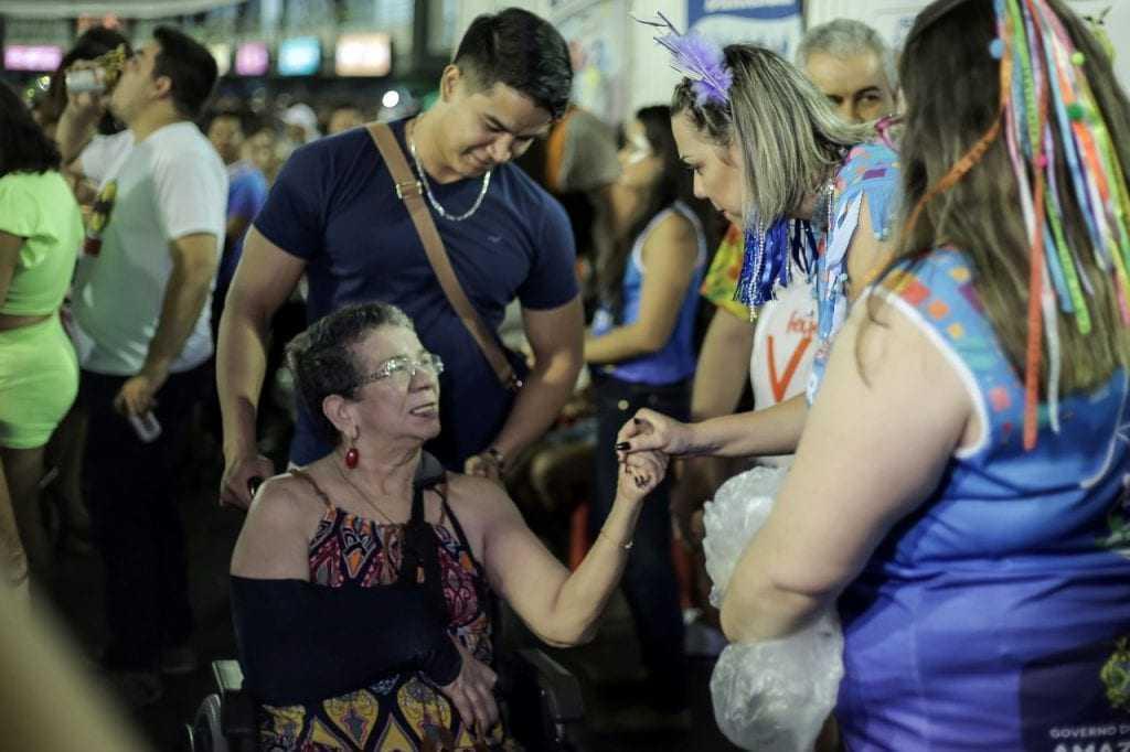 Seped monta espaço para PcDs no 'Galo de Manaus 2019'