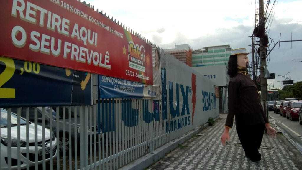 Ponto de venda e troca de Frevolês, na Álvaro Botelho Maia esquina com a Major Gabriel, 1160, Centro. / Foto: Nickson Maciel