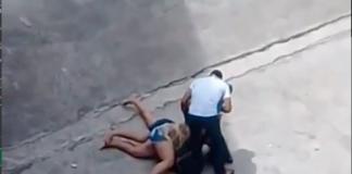 Mulheres se estapeiam em posto de gasolina em Manaus. O motivo? O crush!