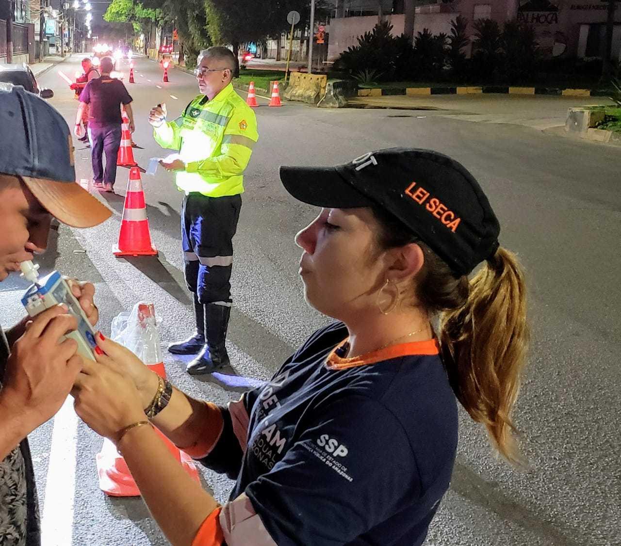Operação da Lei Seca em Manaus / foto : Divulgação