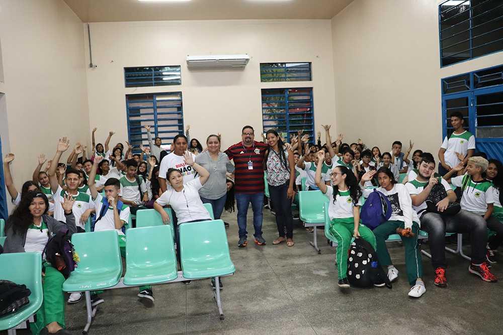 Projeto Parceiros da Escola / foto : Divulgação