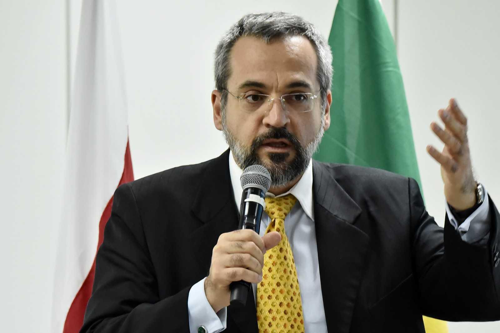 O novo ministro da Educação, Abraham Weintraub, durante evento do governo de transição, em dezembro de 2018 / Foto: Rafael Carvalho