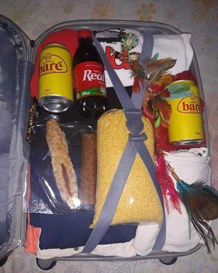 Amazonense quando viaja tem que levar alguma coisa da sua terra