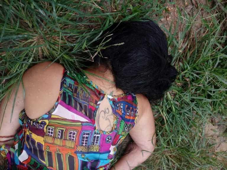 Corpo de mulher seminua é encontrado no Puraquequara  / Foto : Divulgação