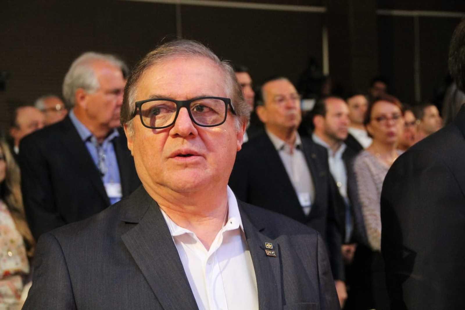 Ricardo Vélez, ministro da Educação, participou de evento em Campos do Jordão (SP), na sexta-feira (5) / Foto: Fábio França/G1
