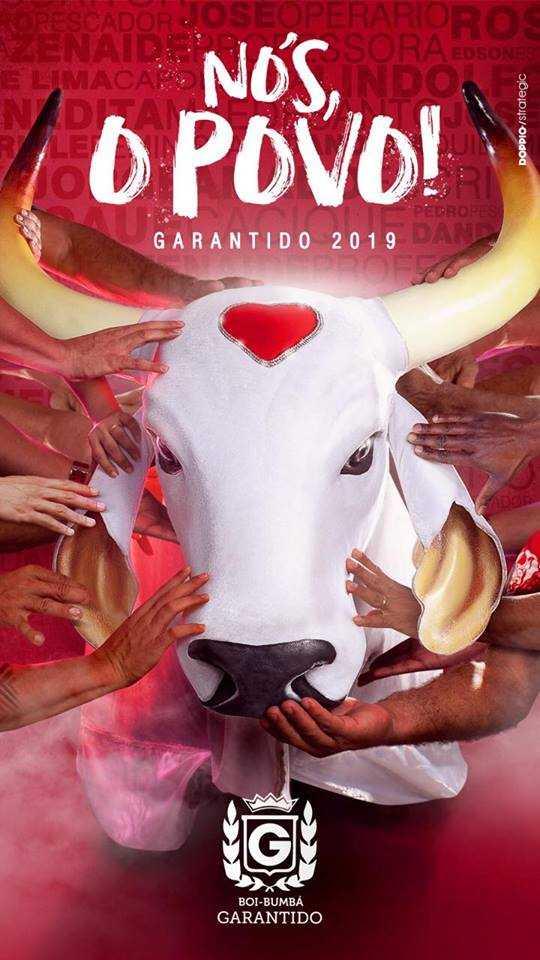 'Nós, o Povo!' é o tema do Boi Garantido para o Festival Folclórico de Parintins 2019