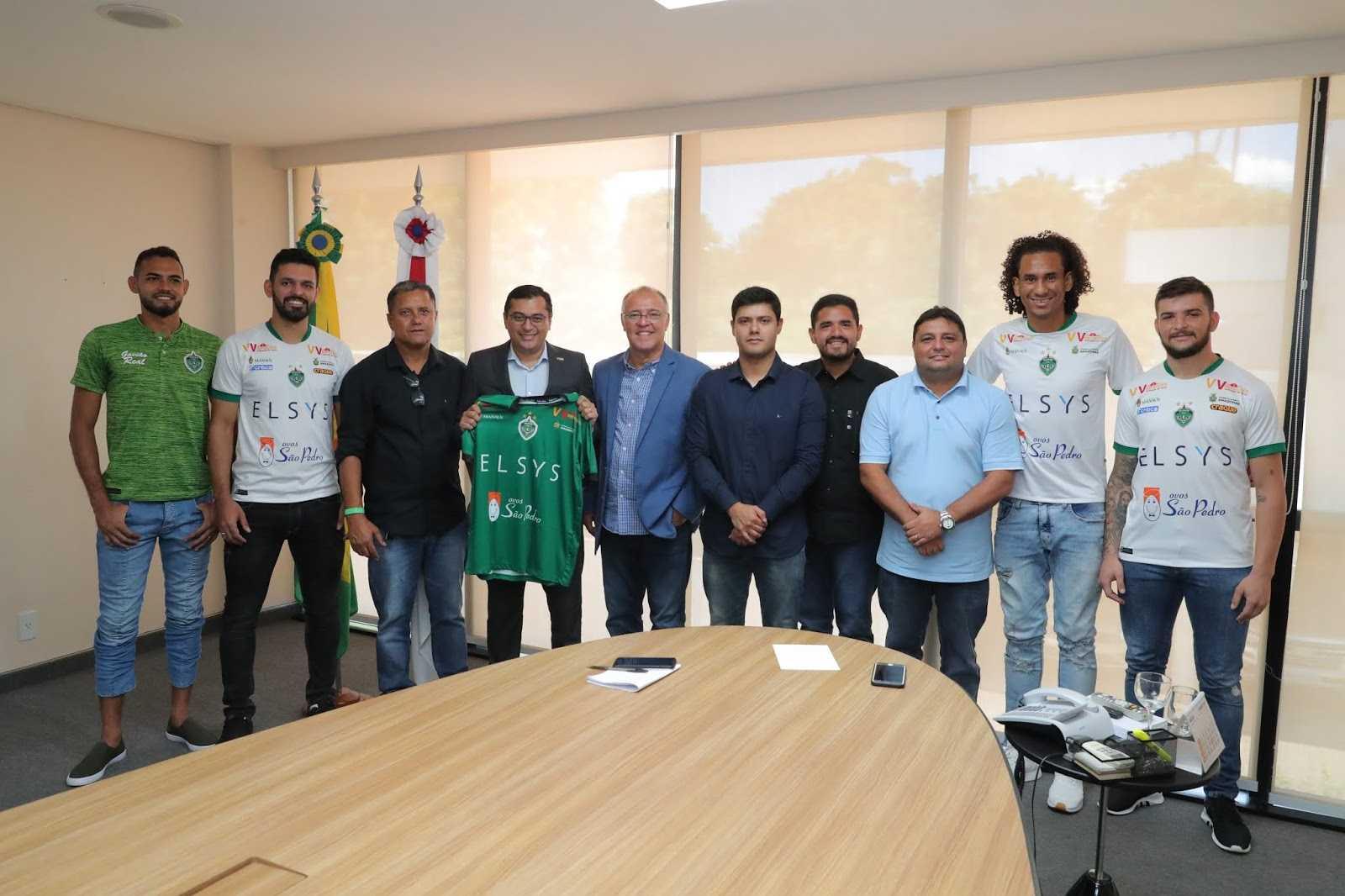 Governo fecha patrocínio de R$ 500 mil com o Manaus FC / Foto: Diego Peres