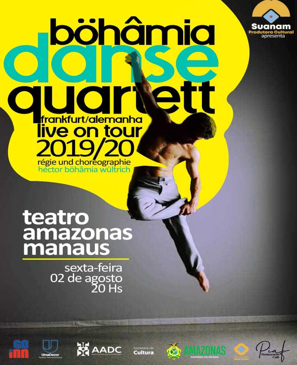 Companhia de dança prestigiada mundialmente faz apresentação única no Teatro Amazonas