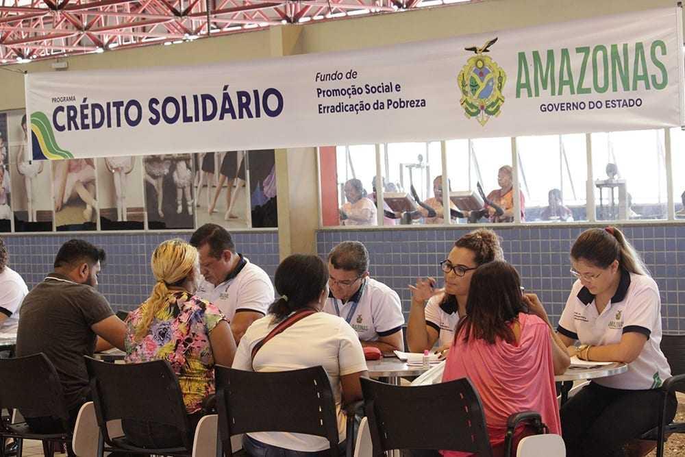 Crédito Solidário leva atendimento para o município de Atalaia do Norte / Foto : Yasmin Feitosa/FPS