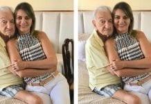 O amor é lindo! Aos 90 anos, Lavoisier Maia, ex governador do RN esbanja amor com sua namorada