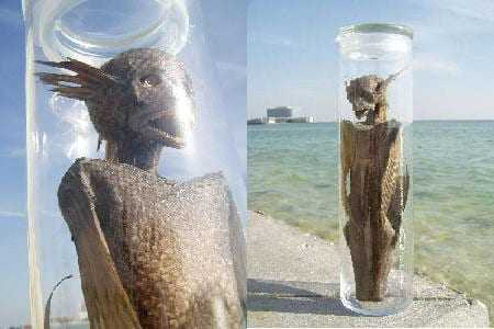 Escultura 'Sea Myth in a Bottle', 2008. Vendida por U$ 1.800