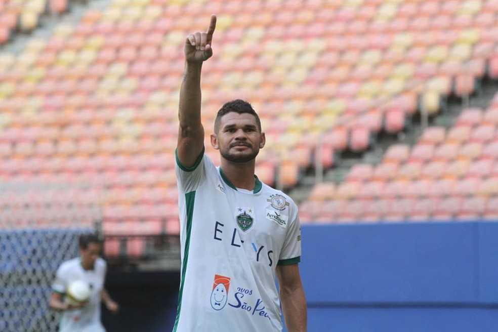 Derlan zagueiro do Manaus FC — Foto: Antônio Assis/FAF