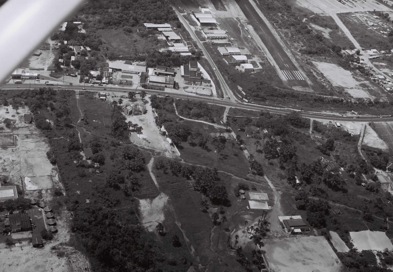 Detalhe da Pista do Aeroclube de Manaus / FOTOS DE MANAUS ANTIGA CORREA LIMA
