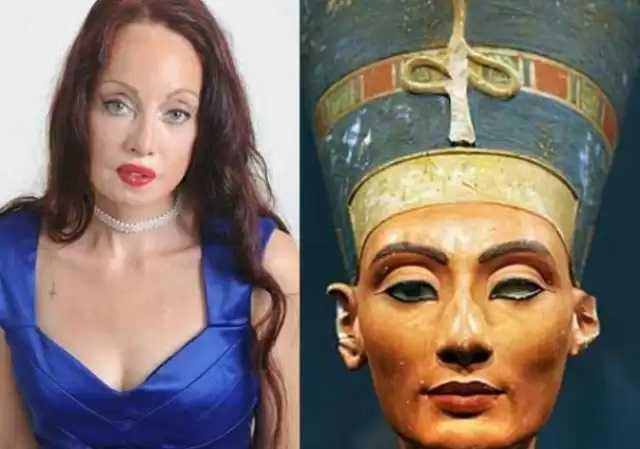 Mulher fez mais de 50 cirurgias para se parecer com Nefertiti