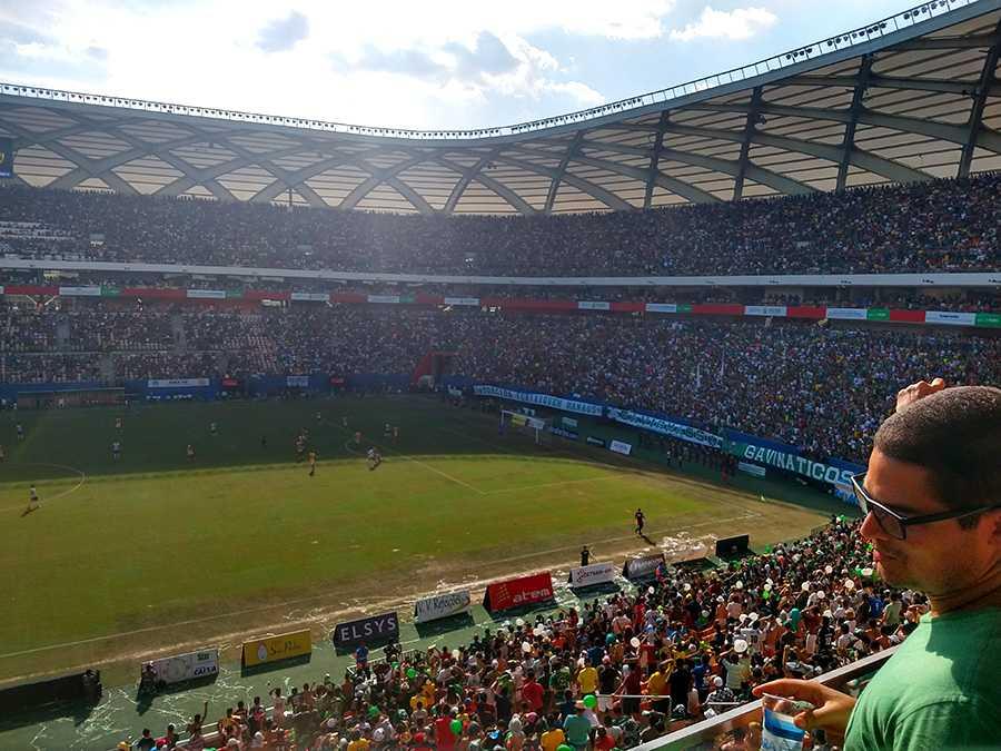Manaus FC quebra record de público na Arena da Amazônia, mas título não veio