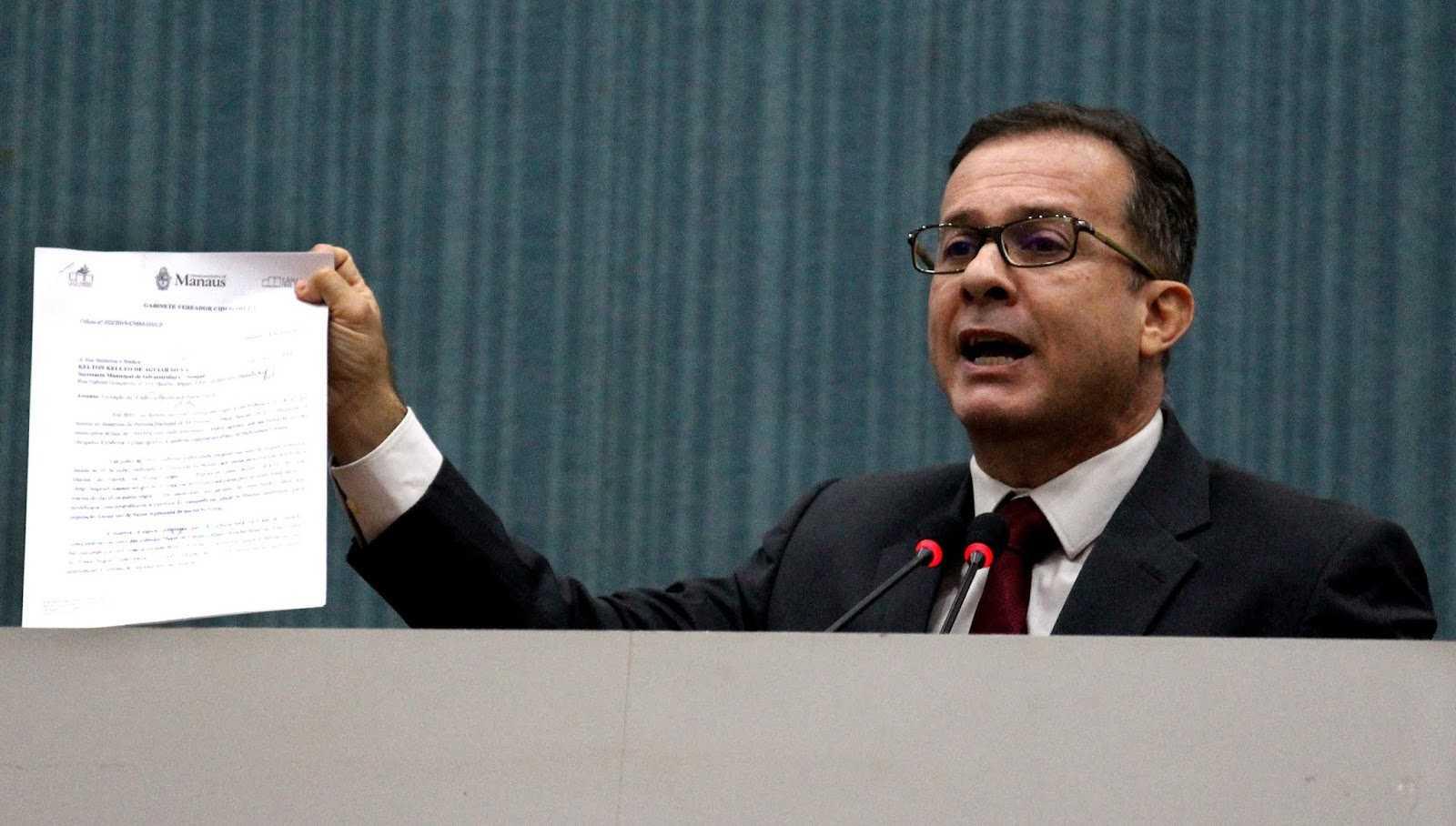 Prefeito Arthur Neto já gastou quase meio bilhão com publicidade e Chico Preto apresenta projeto para limitar gastos com publicidade / FOTO: ROBERVALDO ROCHA / CMM