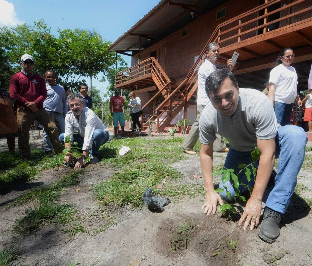 Empreendimento turístico sustentável na RDS Uatumã /Foto : Claudio Heitor /SECOM