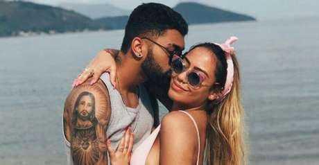 Em 2017, Gabigol e Rafaella namoraram (Reprodução/ Instagram)