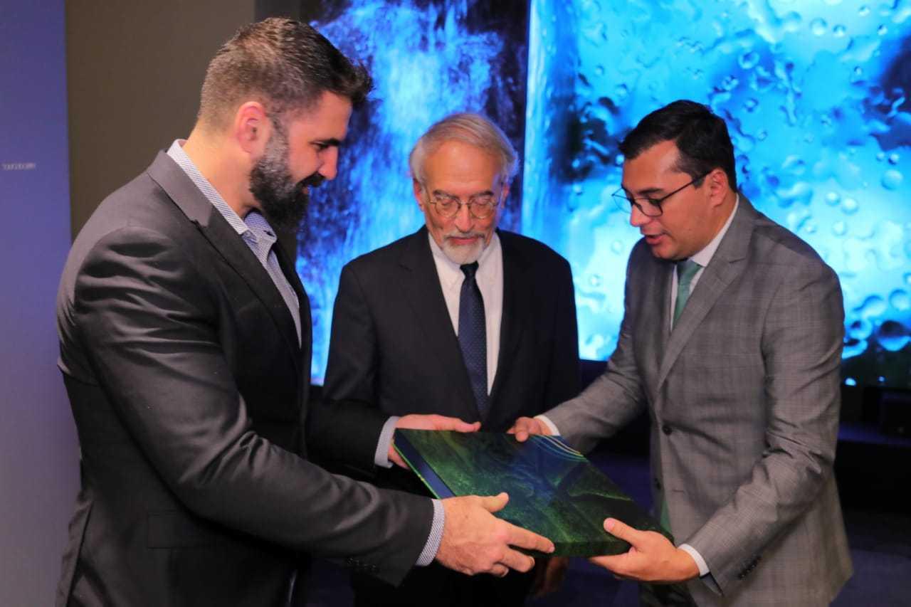Único governador brasileiro a falar em evento na ONU, Wilson Lima quer prioridade ao desenvolvimento humano / Foto : Maurílio Rodrigues/Secom