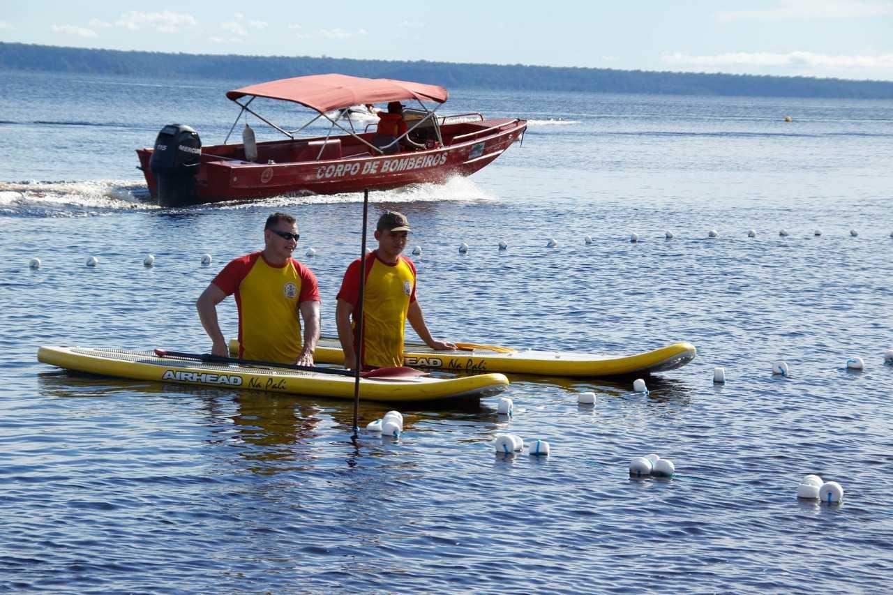 Bombeiros ressaltam cuidados a se tomar em balneários, rios, igarapés e piscinas / Foto: Divulgação/SSP-AM