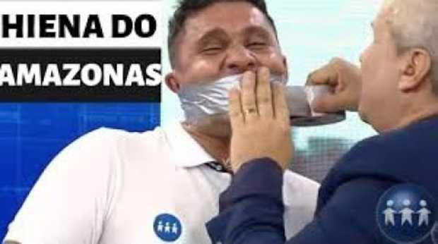 Hiena do Amazonas com Sikera Jr / Reprodução TV ACritica