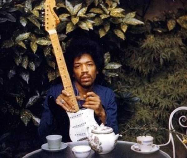 Jimi Hendrix / Imagem: AP