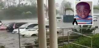 Menino de 7 anos é a primeira vítima do furacão Dorian - sua irmã está desaparecida