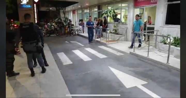 Tiroteio e morte dentro do Hospital Santa Julia no Boulevard Álvaro Maia em Manaus