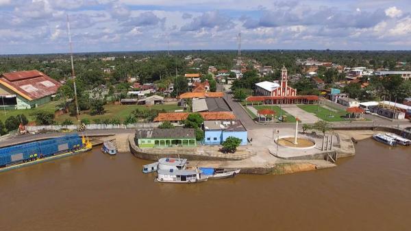 """A """"Princesa do Ramos"""" : Barreirinha município do Amazonas"""