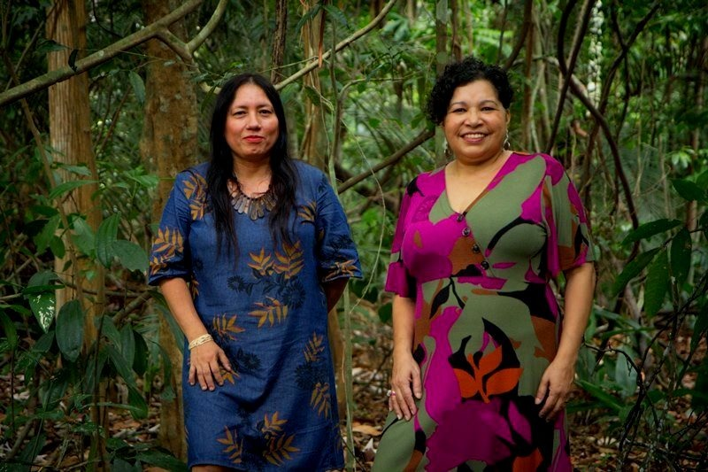 Elaize Farias e Katia Brasil - diretoras da Amazonia Real / Foto - Cesar Nogueira Amazonia Real