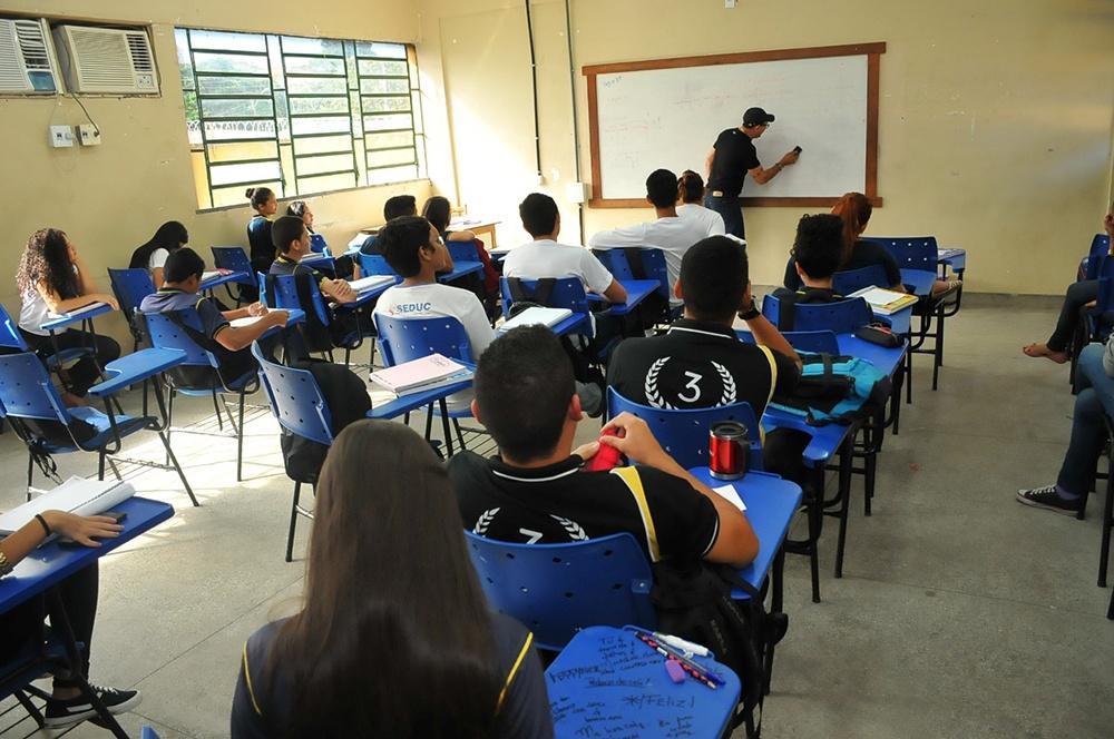 13 mil professores da rede estadual já foram promovidos nos 9 meses do novo Governo do Amazonas / Foto : Divulgação
