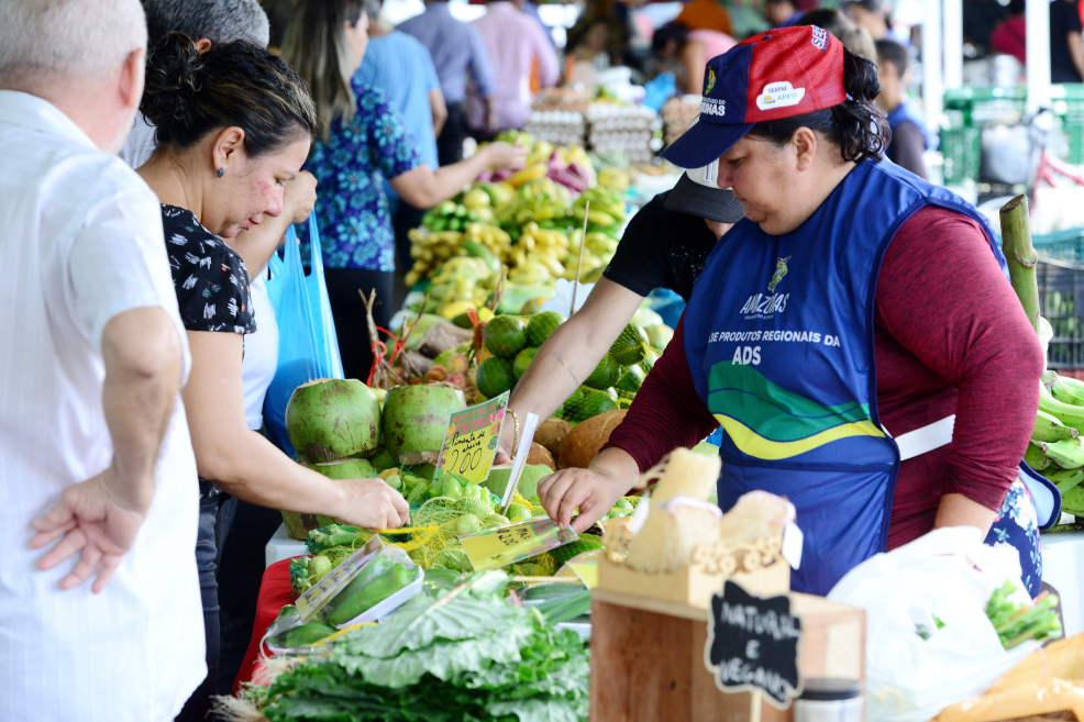 ADS inaugura Feira de Produtos Regionais em Maués / FOTO: Divulgação/ADS