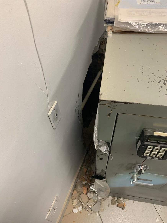 Bandidos audaciosos assaltam cofre de banco em agência bancária de Manaus