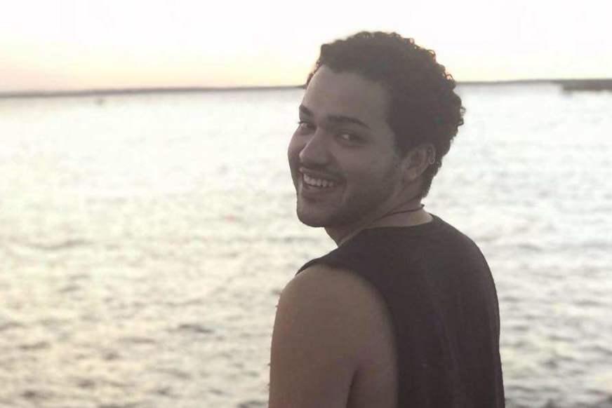 Claymer Fernandes Montenegro estava retornando da faculdade pra sua casa quando foi atingindo