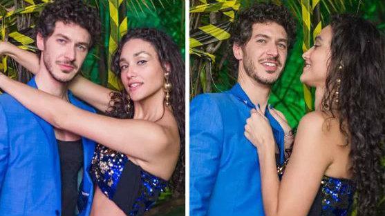 Débora Nascimento e o novo namorado, Luiz Peres (Crédito: Reprodução/Facebook/Apocalipse Tropical)