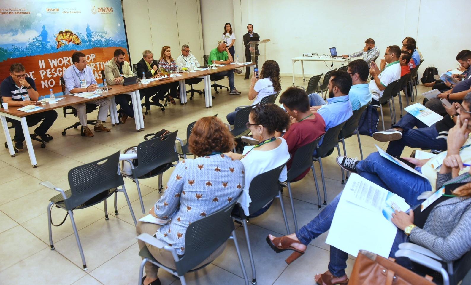Governo do Estado discute diretrizes para o ordenamento da pesca esportiva no Amazonas / Foto : ROBERTO CARLOS/SECOM